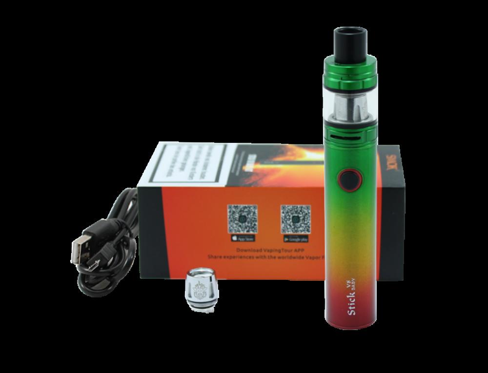 SMOK-Stick-V8-Baby-starterset-Rasta-Groen